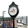 Two-faced post clock to go up on corner of M-52 & Main Street