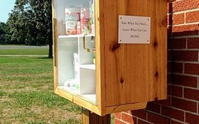 Help fill the blessing box