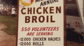 Looking Back… The 1982 Chicken Broil