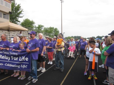Dozens of survivors took part in last year's Relay For Life.