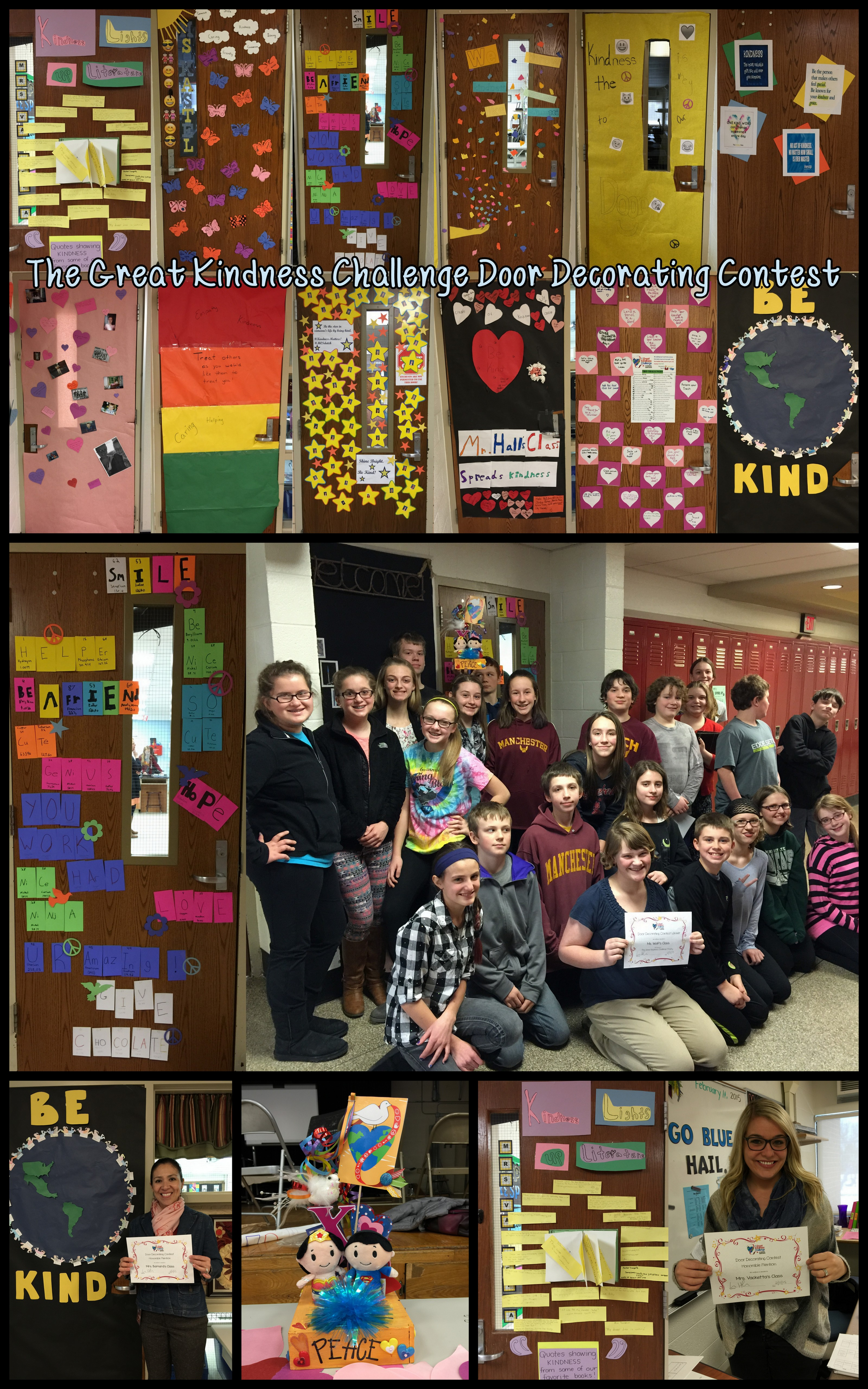 Manchester Middle School Celebrates Great Kindness