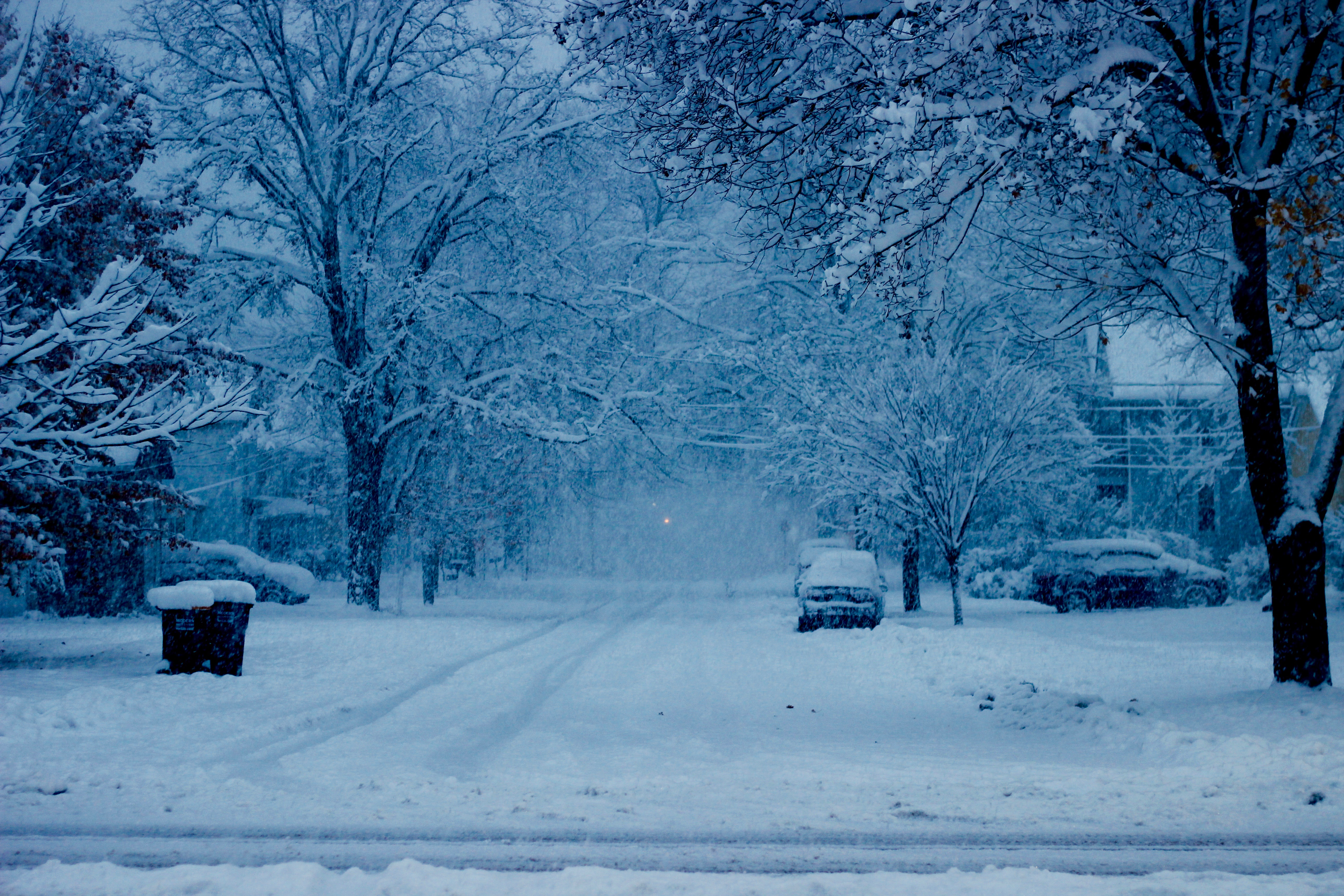 First Snow Storm of the Season (photos) | The Manchester ...
