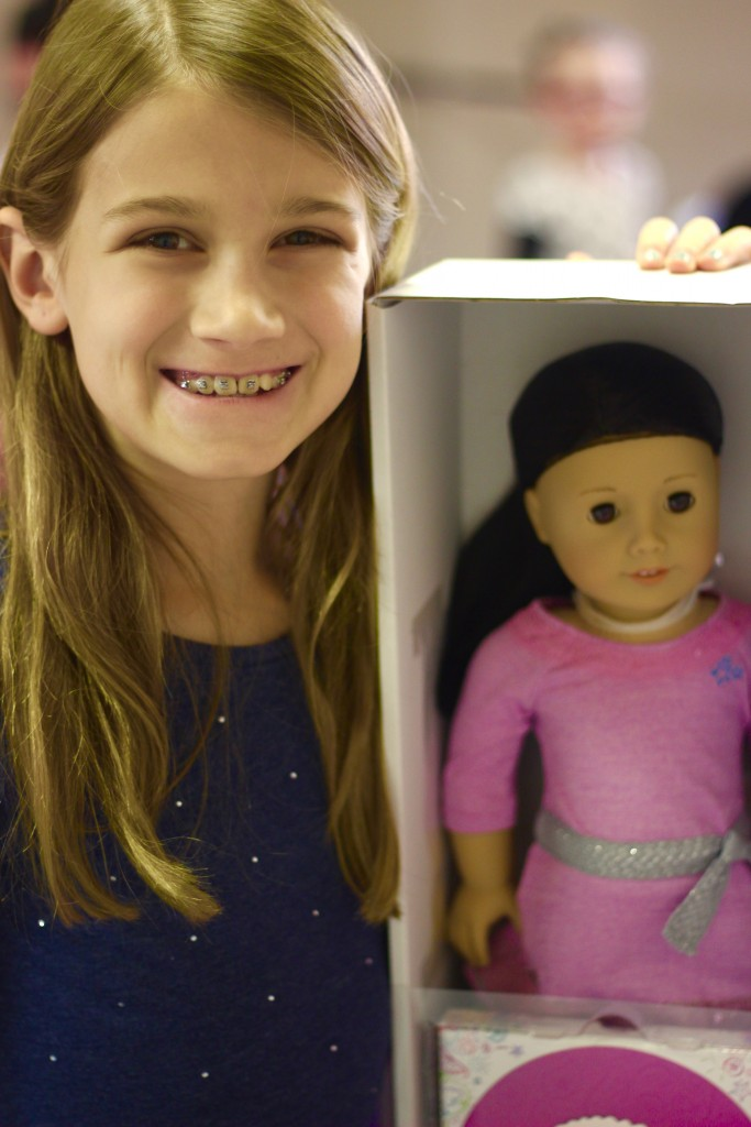 Miss Wahl took home a new American Girl Doll.