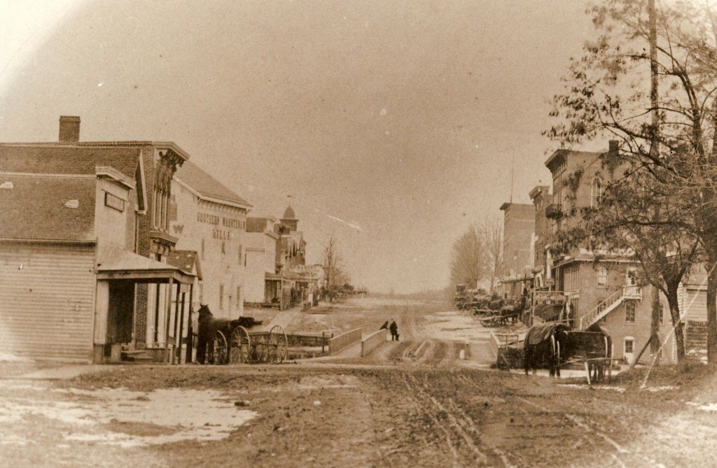 Manchester circa 1867, the year our village was incorporated.