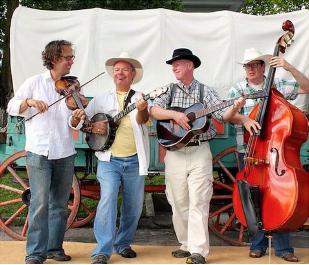 Mark Palms and the Old Time Millers String Band. Photo courtesy of Dance, Manchester!