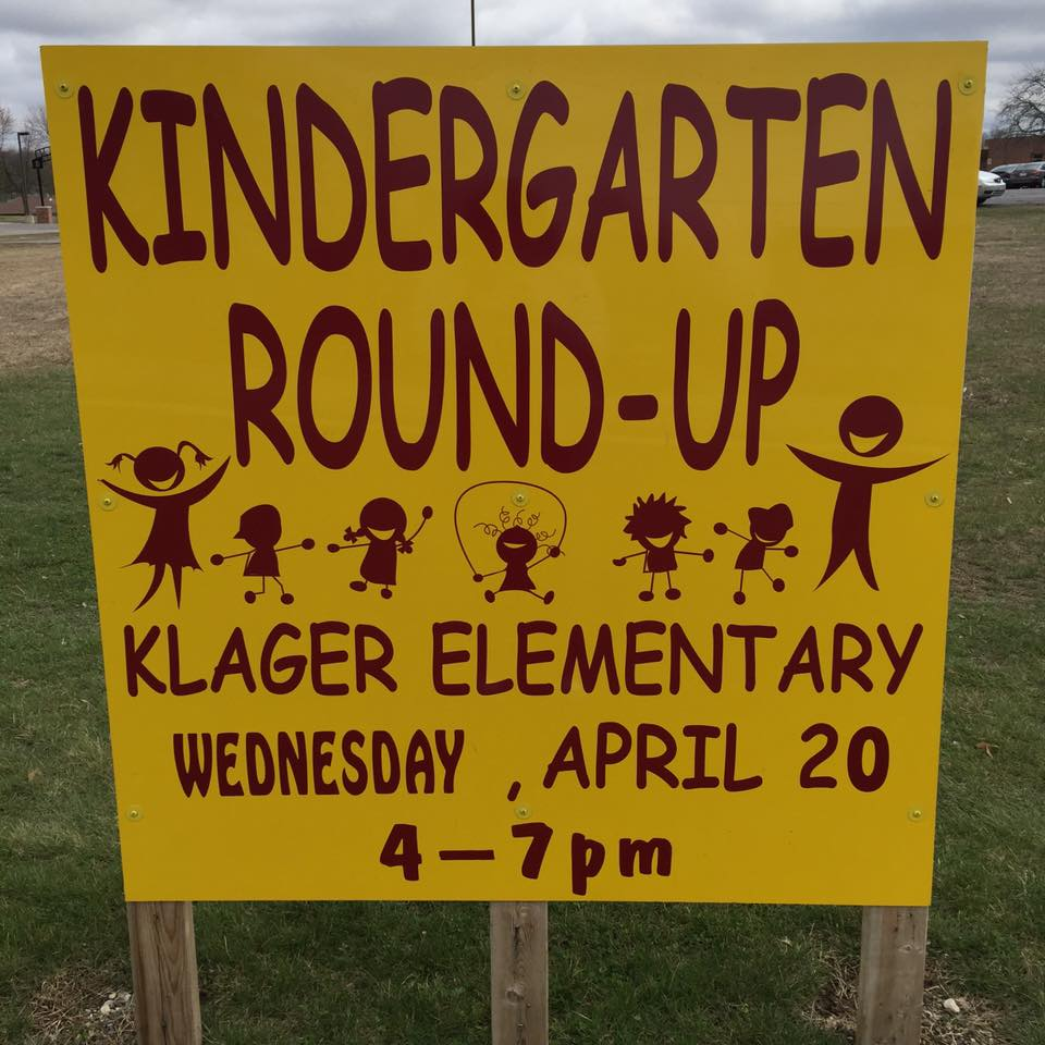 Photo courtesy of Klager Elementary School.
