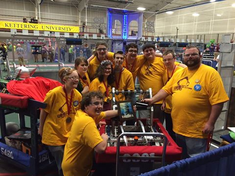 "Manchester High Schools rookie FIRST Robotics team the ""Digital Dislocators"" will be making an appearance at Math and Science Night on Friday."
