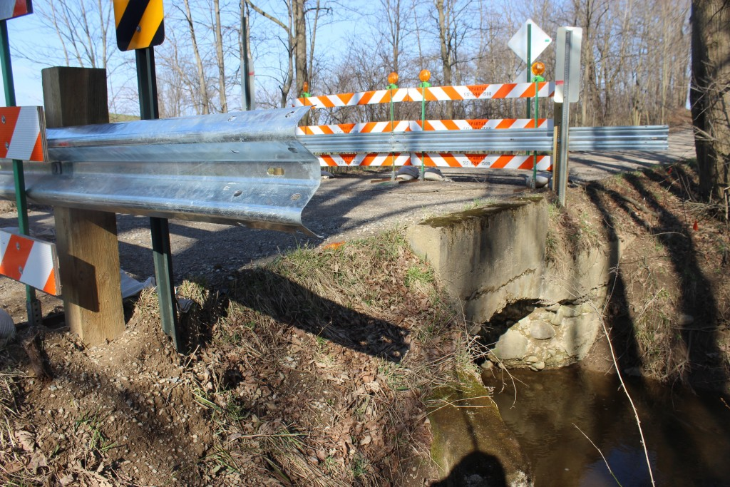 It was announced at the March Freedom Township Board meeting that the culvert needs to be replaced which will cost an estimated $300,000.