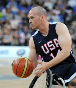 Wheelchair Paralympic basketball champion, and Manchester alumni Paul Schulte will be doing color commentary on the Paralympic wheelchair basketball games on CNBC beginning Sept. 8.