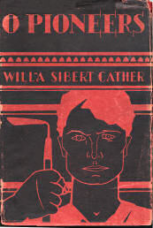 Early edition of O Pioneers by Willa Cather.