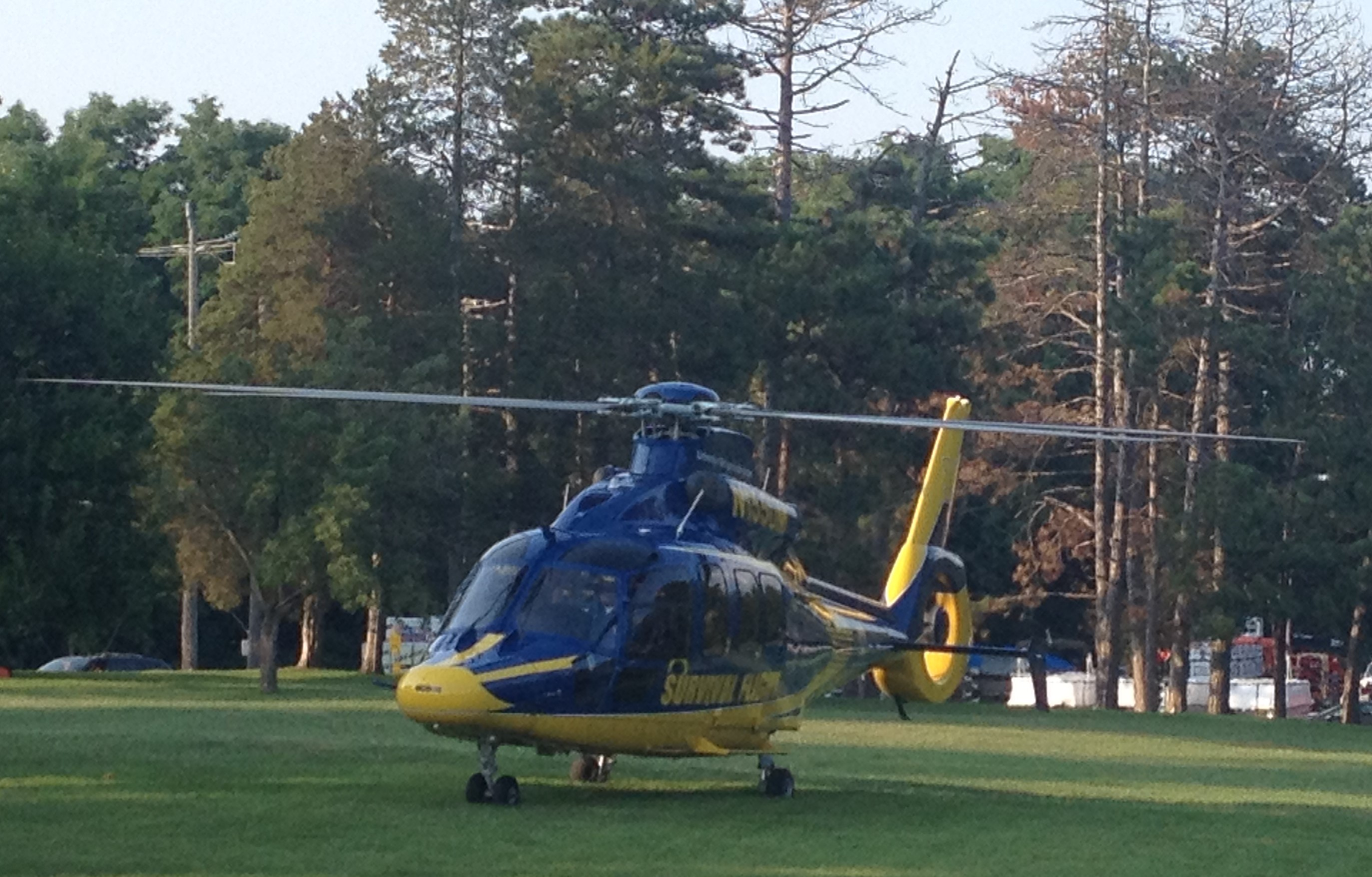 Survival Flight. Photo courtesy of Manchester Township Fire Department.