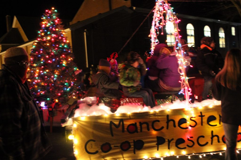In the children's category, Manchester Co-op Preschool won 3rd place and $50.