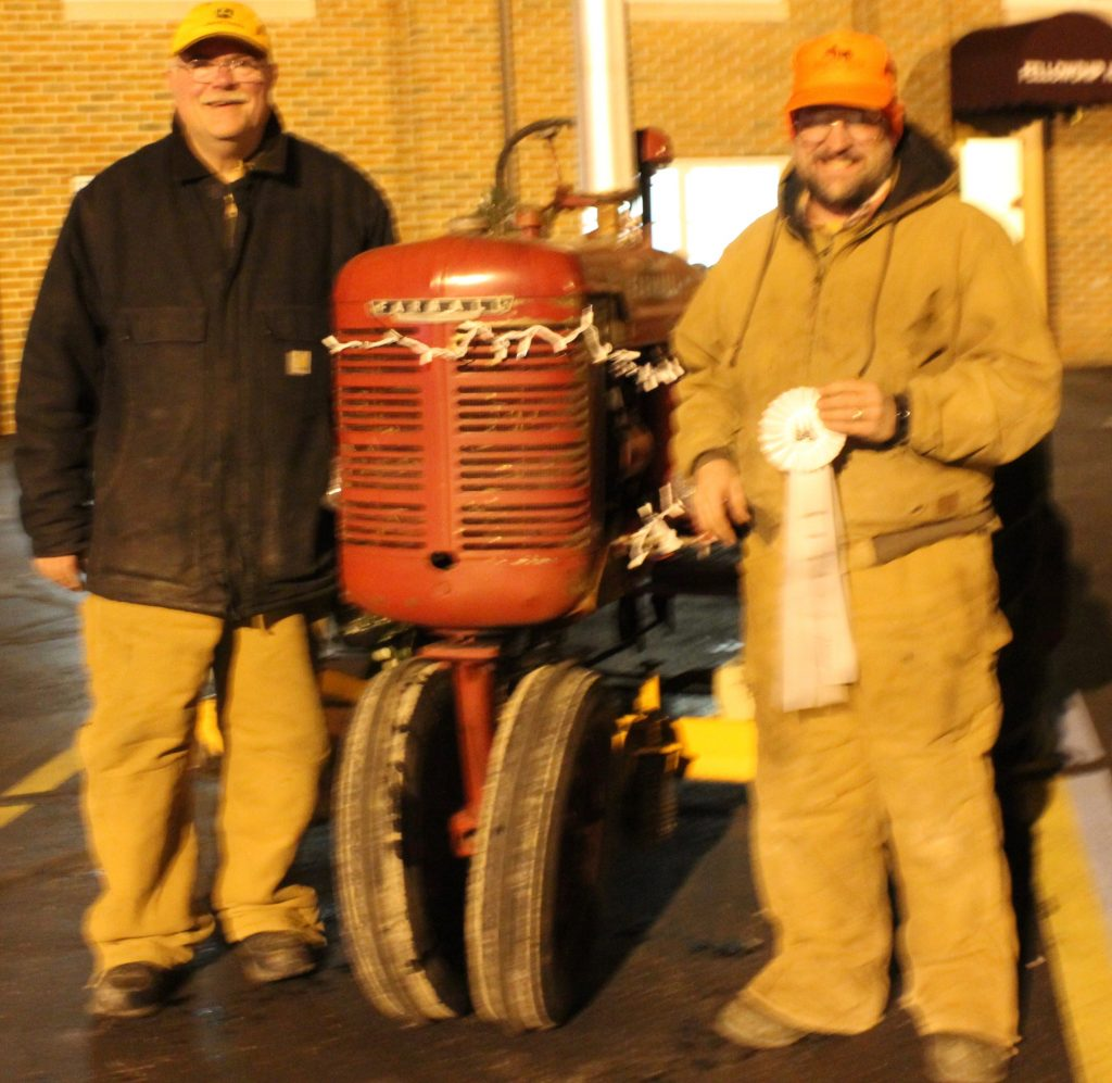 Jackson Tractor Club won 3rd place in the business category.
