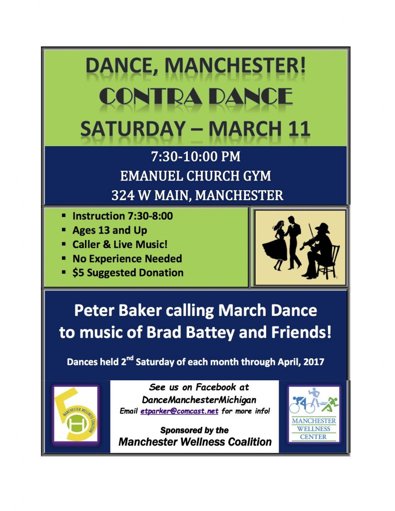 March 11 Dance flyer