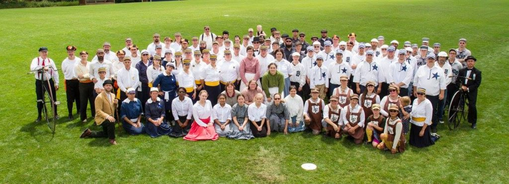 Monitor Base Ball Club of Chelsea. Manchester's competition on August 5th this summer! Photo courtesy of Joe Christensen.