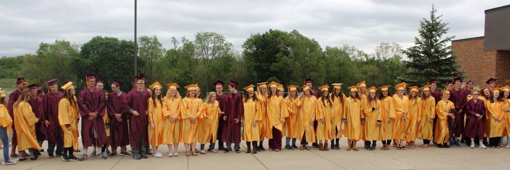 Graduation gown recycling program for Manchester High School | The ...