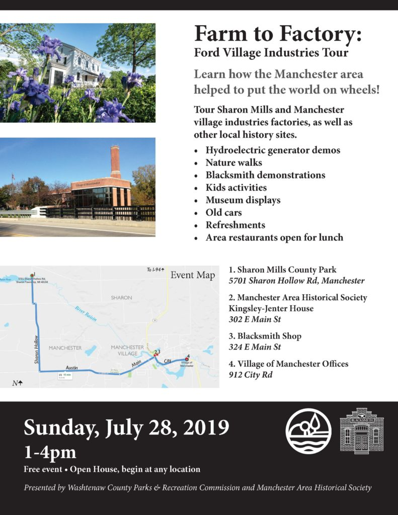 """Manchester hosting Ford Village Industries """"Farm to Factory"""